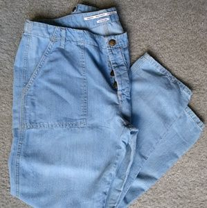 🆕 Listing! Zara Woman Chambray Jeans